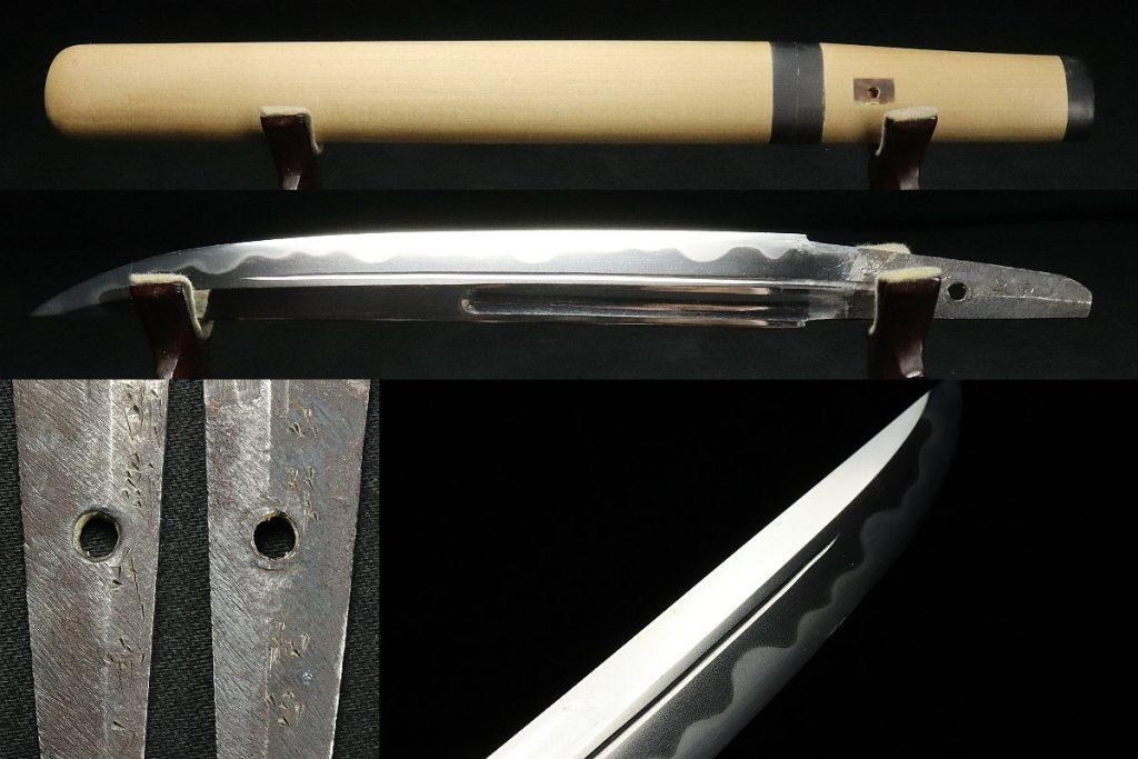 □□氏守力銘/白鞘短刀